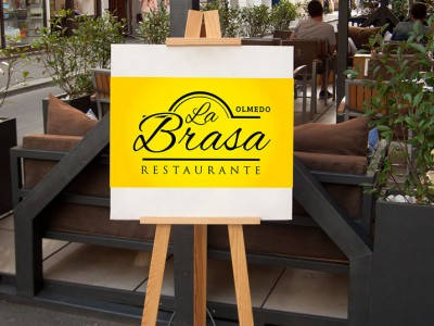 logo-restaurante la brasa