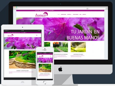 Web presencial-jardines azalea